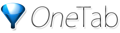 OneTab logo/link